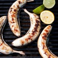 Bananen op de barbecue
