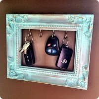 DIY plek voor je sleutels