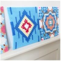 Marokkaanse tegels van strijkkralen