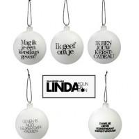 Kerstbal van LINDA
